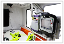 ambulance urgence panel pc medical