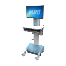 md6 chariot medical informatise pour ecran pc