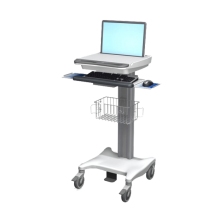 med 730 chariot medical securise pour portable modulable