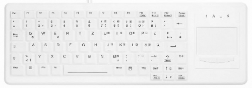 Clavier médical – 83 touches – TouchPap – IP68
